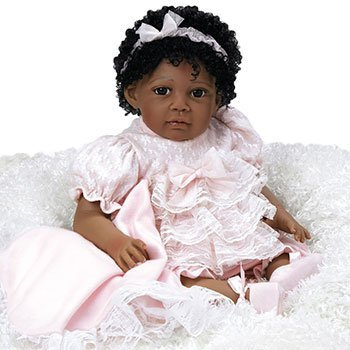 Paradise Galleries Reborn African American Toddler Black Baby Dolls That Look Real