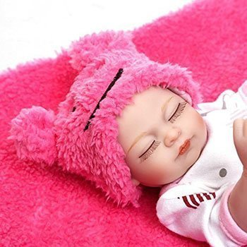 Pinky Mini Reborn Baby Girl 2 Cheap Realistic Baby Dolls