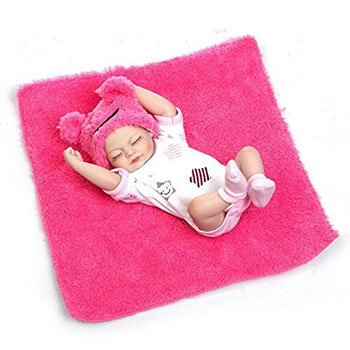 Pinky Mini Reborn Baby Girl Cheap Realistic Baby Dolls