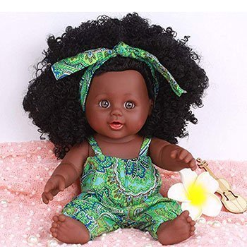 Start Wuvi African American Play Doll Black Baby Dolls That Look Real 2