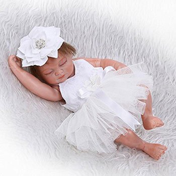 iCradle Realistic Baby Girl Mini Doll 2 Cheap Realistic Baby Dolls