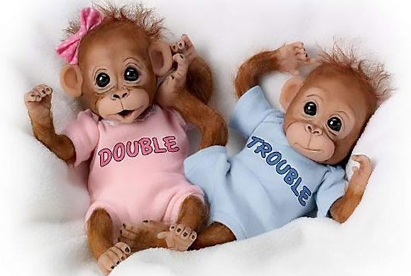 7 Adorable Reborn Animal Dolls Monkeys 1