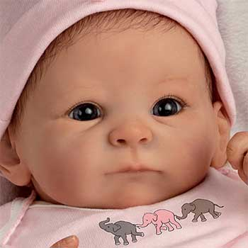 Drake Galleries Mini Reborn Doll 17 inch 1