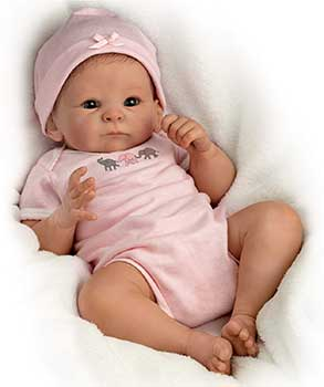 Drake Galleries Mini Reborn Doll 17 inch